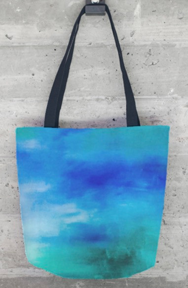 Perfect tote bag for everyday life featuring one of Elizabeth's paintings.