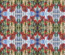 Fabric design - Poppies Revolt