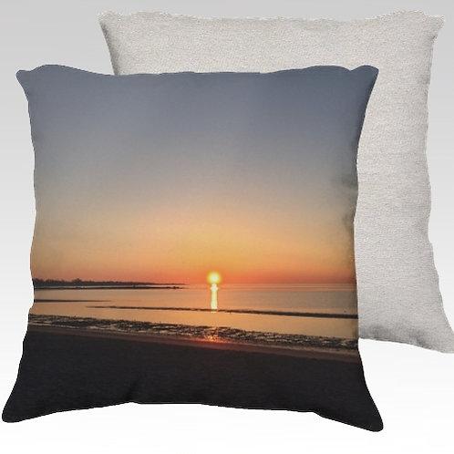 Sunday Morning Velvet Pillow
