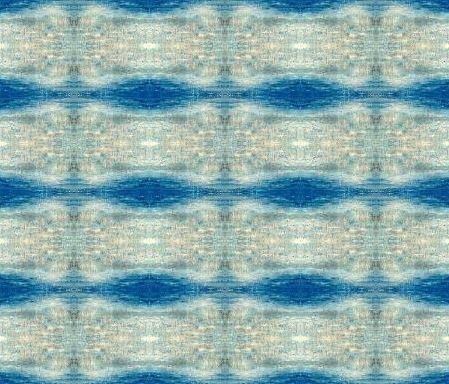 Fabric design - Turquoise 2