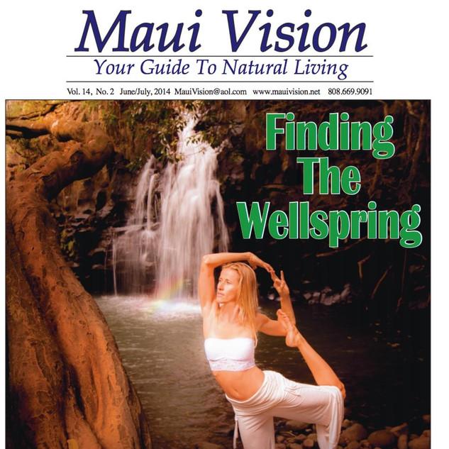 Maui Vision Magazine Cover
