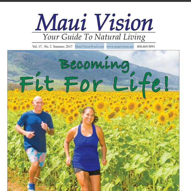 Maui Vision Cover promotional photo