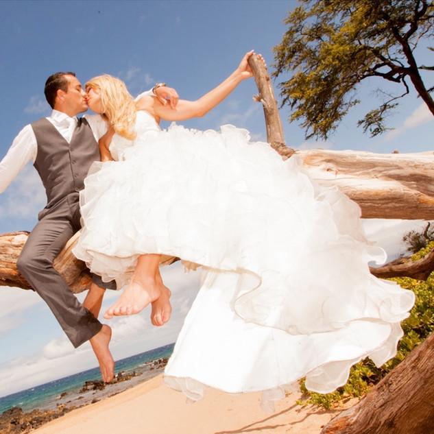 Maui Wedding on Andaz Beach