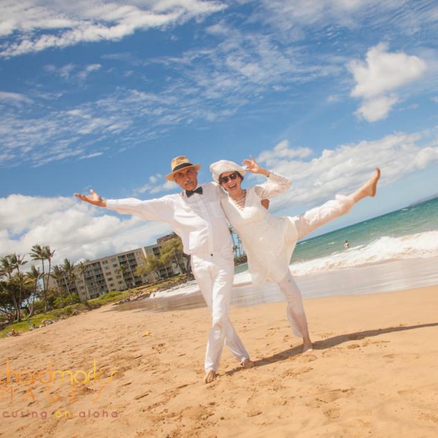 Jack & Trudy Kornfield Wedding Day.