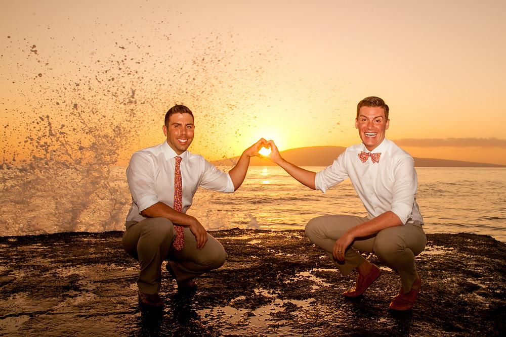 Maui LGBTQ Wedding Photography