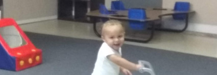 """""""Look at me...I am learning to walk!"""""""