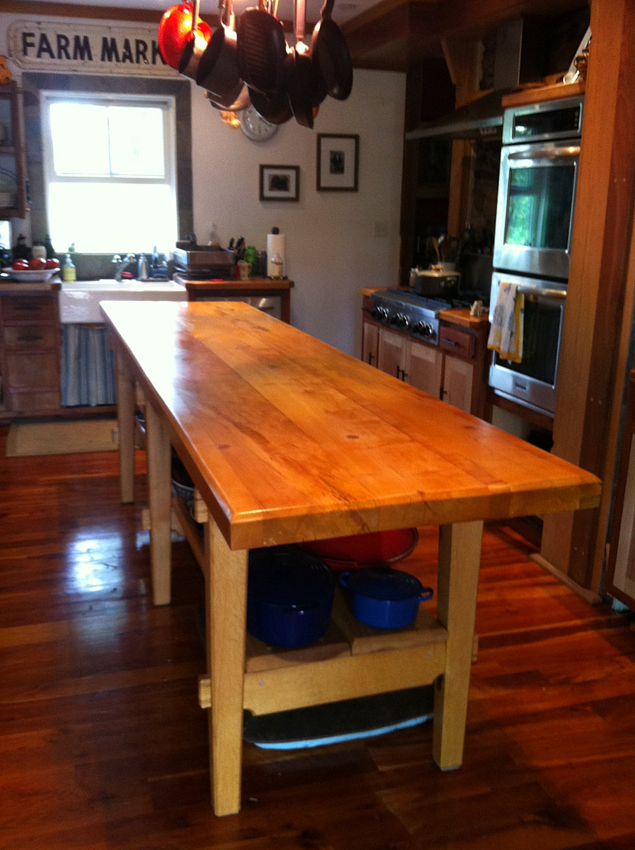 maple kitchen table - Maple Kitchen Table