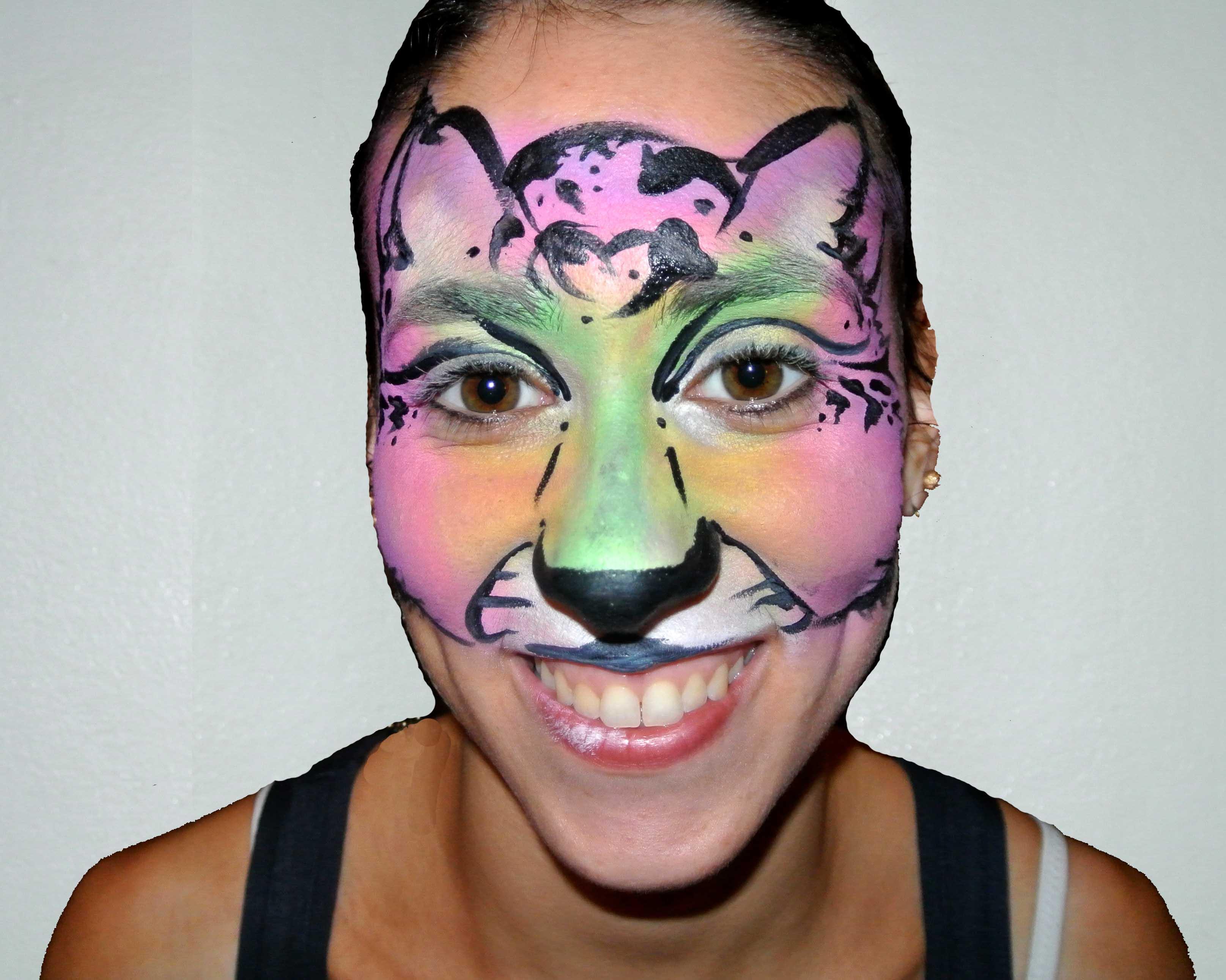 Colourful Cat