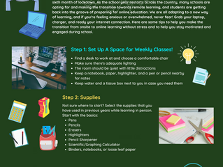 Online and Organized! Tips on Getting Ready for Remote Learning