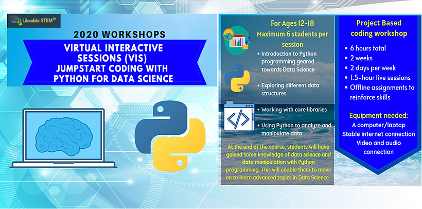 VIS Python Data Science Website Horizont