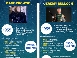 The Fall of an Empire: Remembering the Lives of Dave Prowse and Jeremy Bulloch