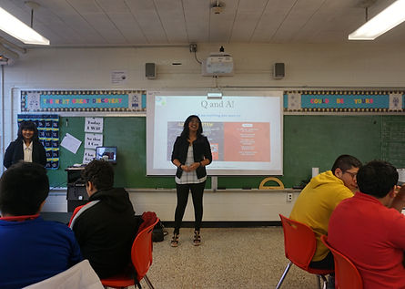 Likeable STEM | Past Events | Perth Amboy School District | New Jersey | Entrepreneurship Q&A Session | Classroom Presentation | Interactive Python and Arduino Coding Workshop | Computer Science Class