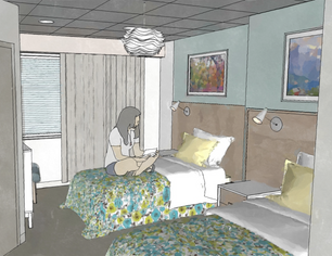 residential treatment bedrooms