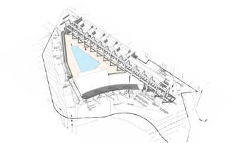 site plan massing study
