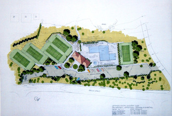 who doesn't love a rendered site plan?