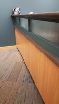 custom reception desk!