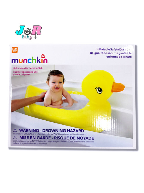 Meet Your Ideal Transition Tub When The Baby Has Outgrown Infant Next Step Can Be A Tricky One To Figure Out Munchkins White HotR Inflatable