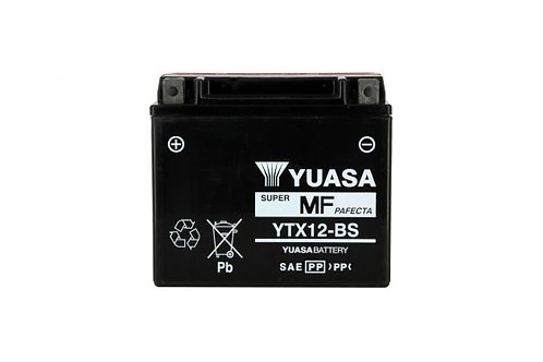 BATTERIE YUASA YTX12-BS 12V 10Ah 180A