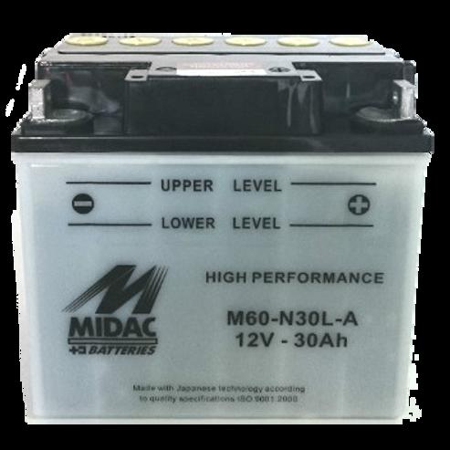 BATTERIE MIDAC AGM Y60-N30-A 12V 30Ah 300A