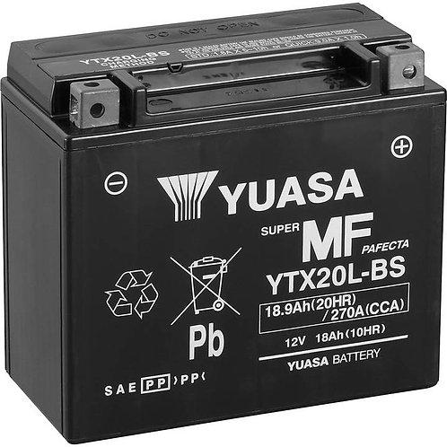 BATTERIE YUASA YTX20-BS 12V 18Ah 270A