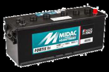 BATTERIE MIDAC FORTIS 140MT 12V 140Ah  900A
