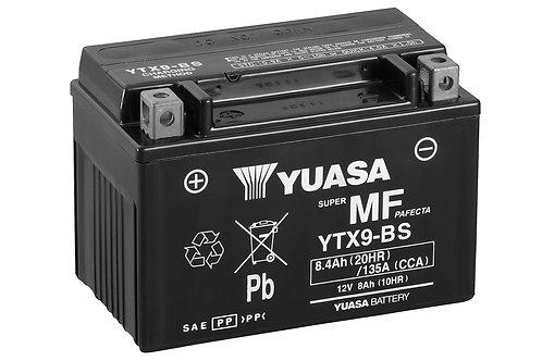 BATTERIE YUASA YTX9-BS SECOURS 12V 8.4Ah  135A
