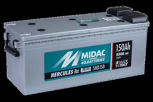 BATTERIE MIDAC HERCULES SHD 150 12V 150Ah 850A