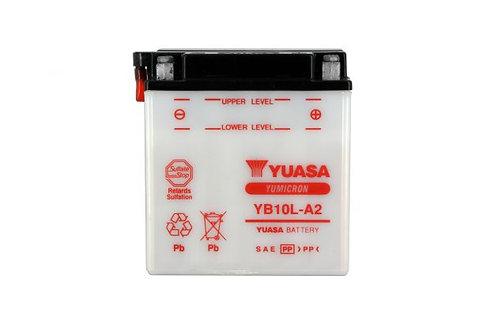 BATTERIE YUASA YB10L-A2 12V 11Ah 160A