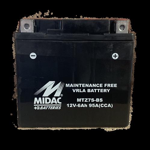 BATTERIE MIDAC AGM YTZ7S-BS 12V 6Ah  95A