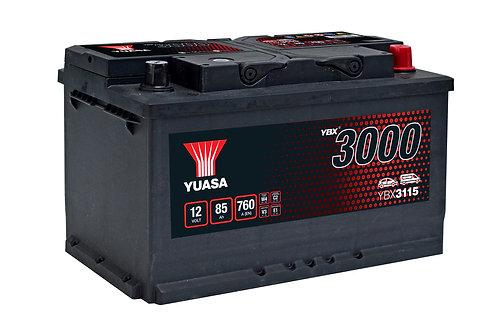 YBX3115 L4 12V 85Ah  760A
