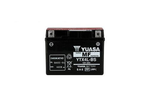 BATTERIE YUASA YTX4L-BS 12V 3Ah 35A