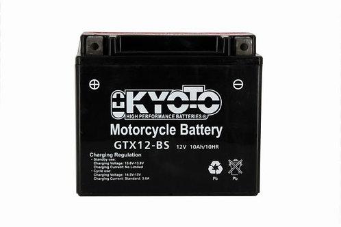 BATTERIE KYOTO YTX12-BS 12V 10Ah 180A