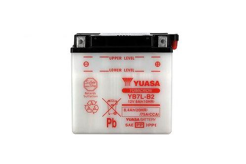 BATTERIE YUASA YB7L-B2 12V 8Ah 90A