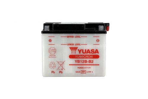 BATTERIE YUASA YB12AL-B2 12V 12Ah 165A