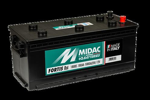 BATTERIE MIDAC FORTIS HD 180B 12V 180Ah  1000A
