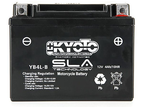 BATTERIE KYOTO YB4L-B SLA 12V 5Ah 70A
