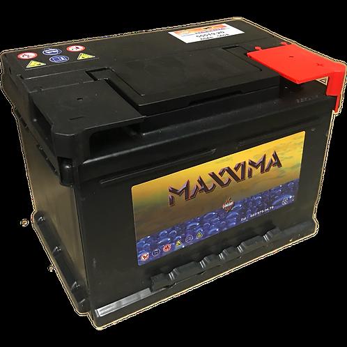 BATTERIE VINCENT - MAXXIMA CLASSIC 12V 62Ah  520A