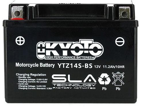 BATTERIE KYOTO YTZ14S-BS SLA 12V 11.2Ah 230A