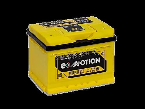 BATTERIE MIDAC E-MOTION EMT1B L1B 12V 50Ah  500A
