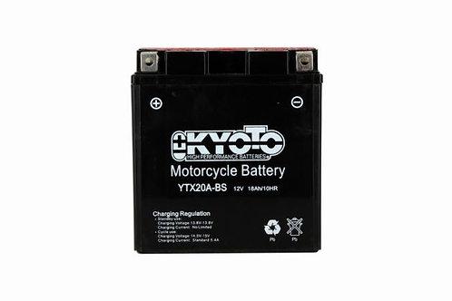 BATTERIE KYOTO YTX20-BS 12V 18Ah 270A