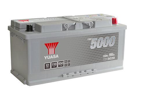 YBX5020 L6 12V 110Ah  950A