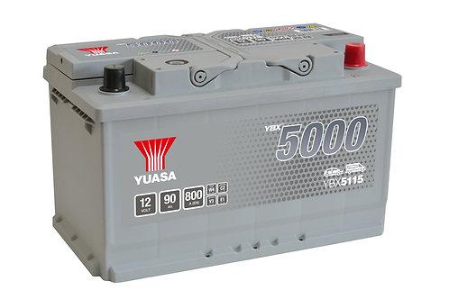 YBX5115 L4 12V 90Ah  800A