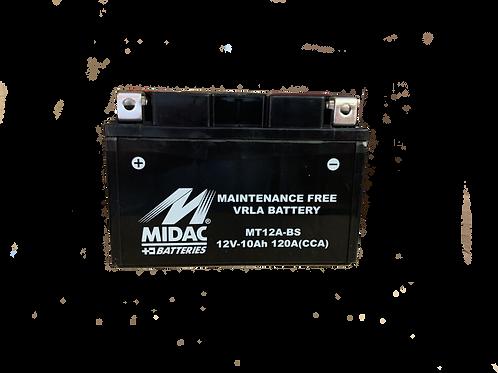 BATTERIE MIDAC AGM YTZ12A-BS 12V 10Ah  150A
