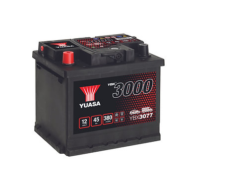 YBX3077 L1 12V 45Ah  380A