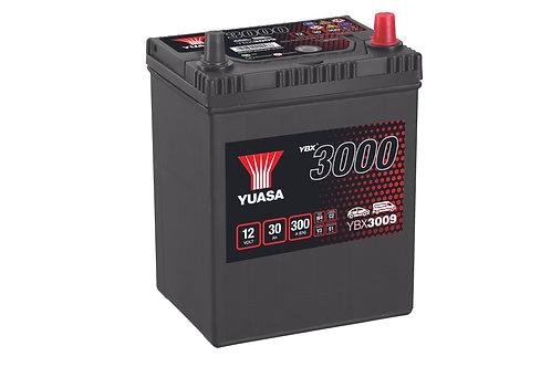 YBX3009 B17L JIS 12V 30Ah 300A