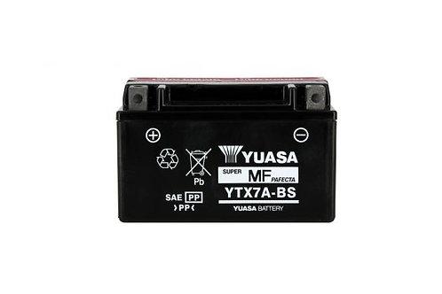 BATTERIE YUASA YTX7A-BS 12V 6Ah 85A