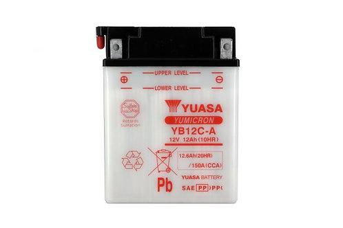 BATTERIE YUASA YB12C-A 12V 12Ah 165A
