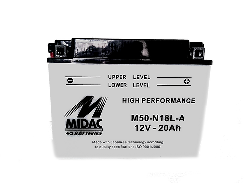 BATTERIE MIDAC AGM Y50-N18L-A 12V 20Ah  260A