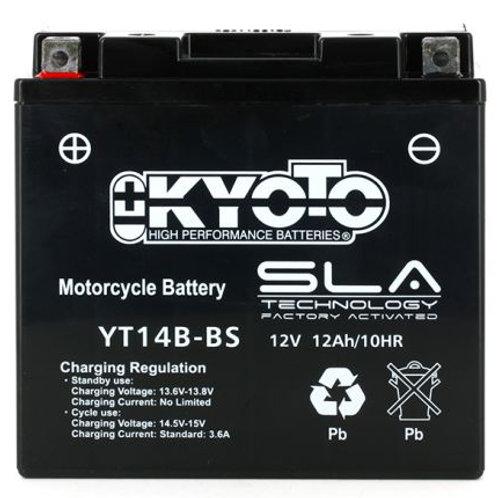 BATTERIE KYOTO YT14B-BS SLA 12V 12Ah 250A