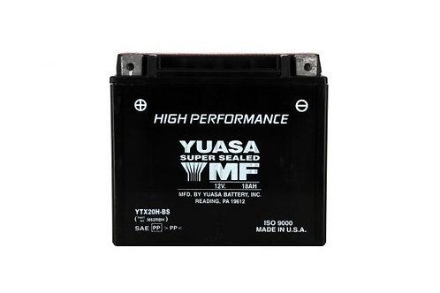 BATTERIE YUASA YTX20H-BS 12V 18Ah 310A